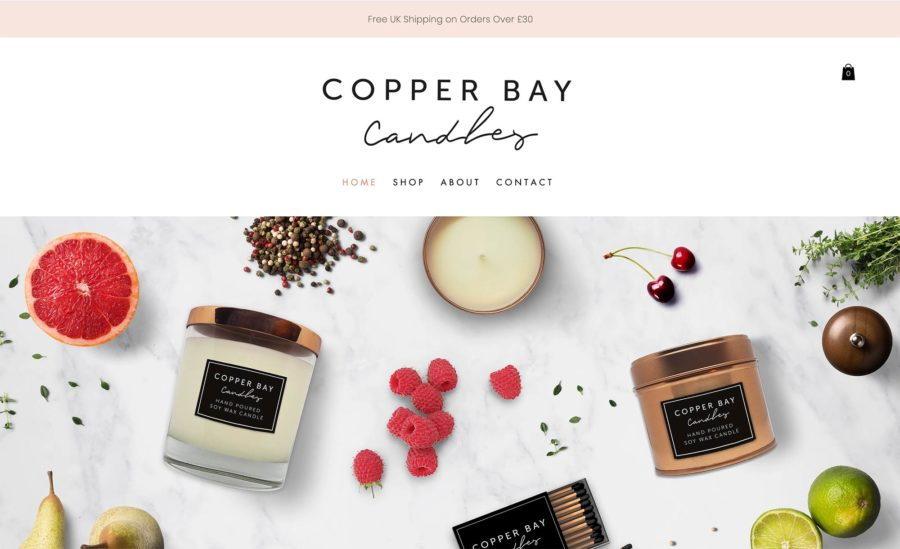 Copper Bay Candles
