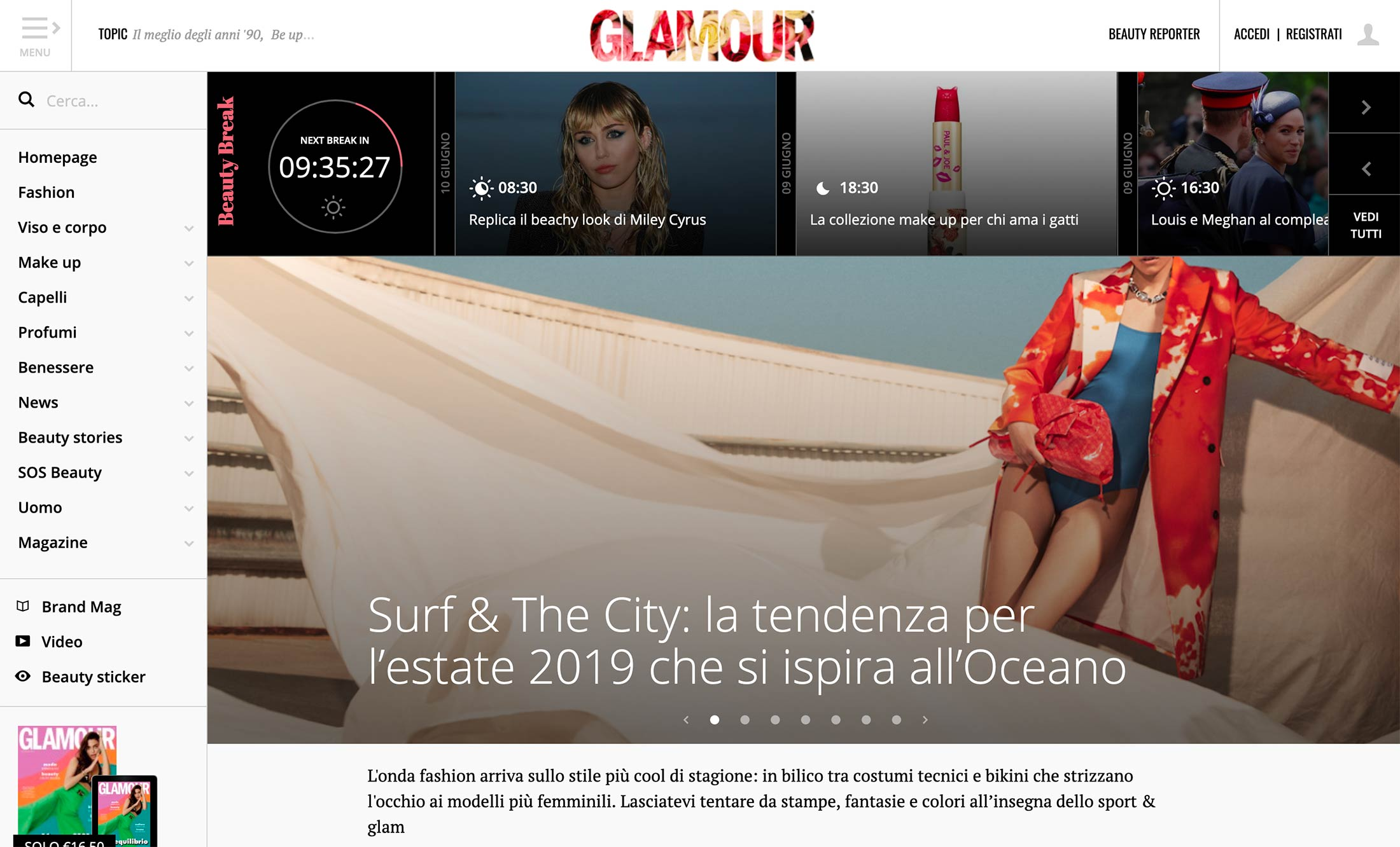 Glamour Italy