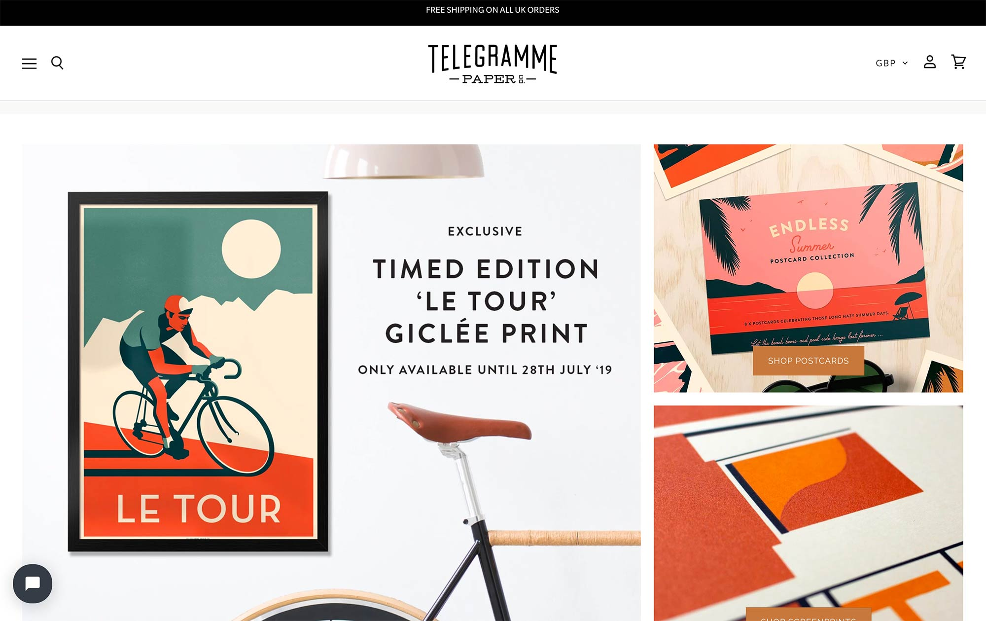 Telegramme Paper Co