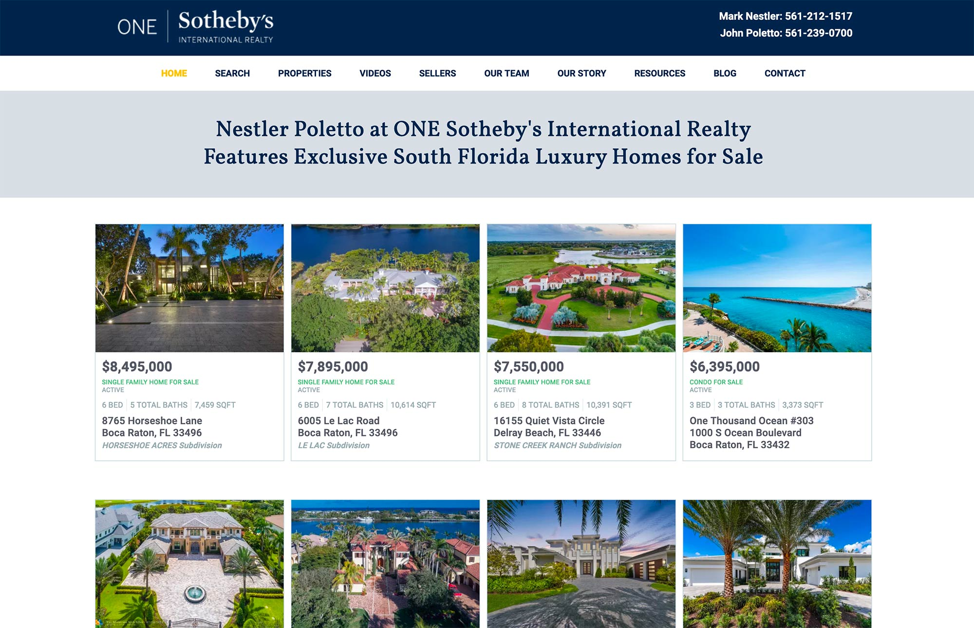 One Sotheby's Real Estate