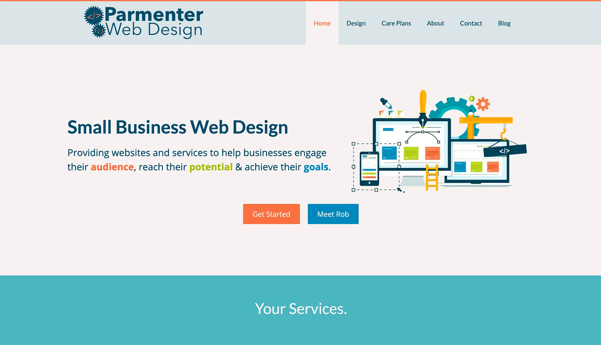 Paramenter Web Design