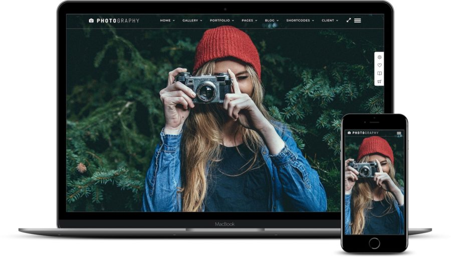 WordPress themes for photographers: Photography WordPress