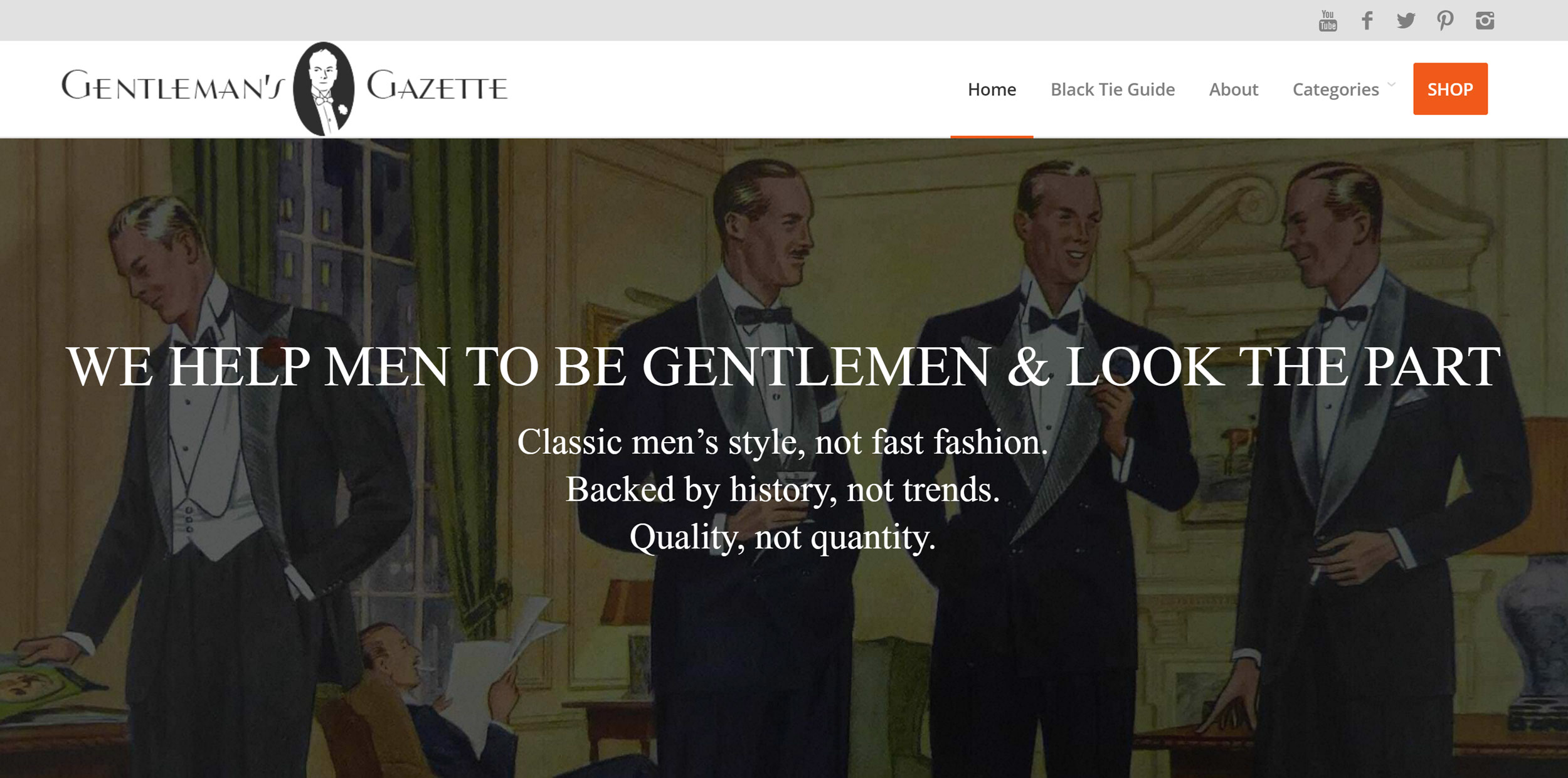 Gentlemen's Gazette