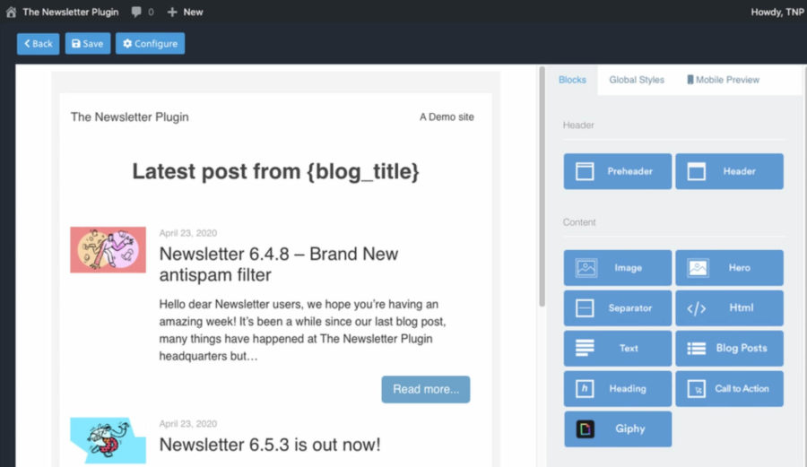 newsletter-plugin-design-options