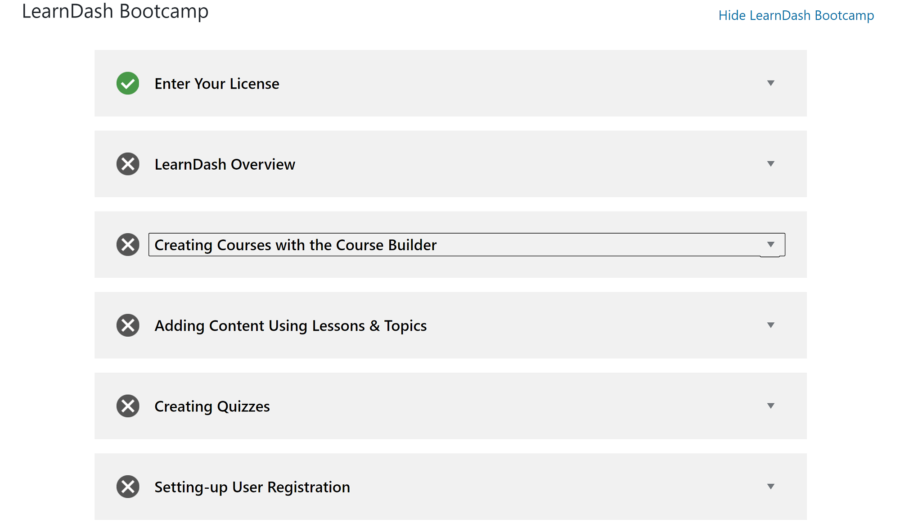 The Best LMS Plugins: LearnDash Bootcamp