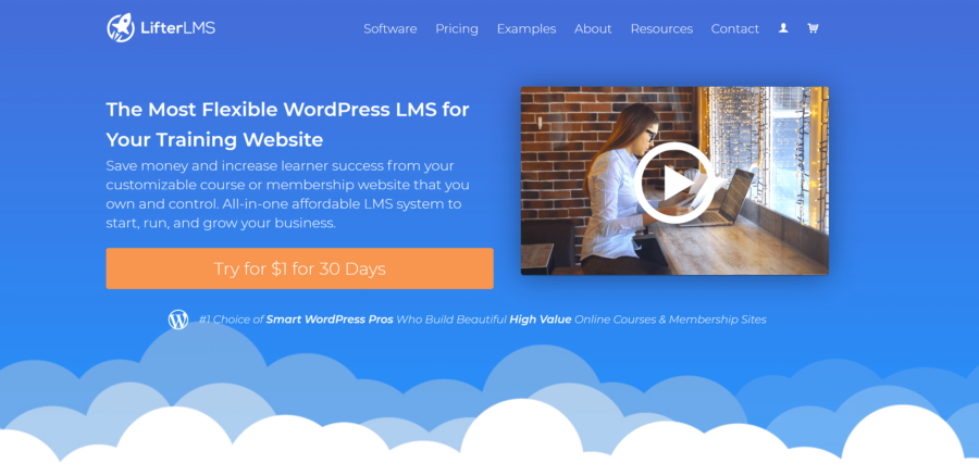 The Best LMS Plugins: LifterLMS Home