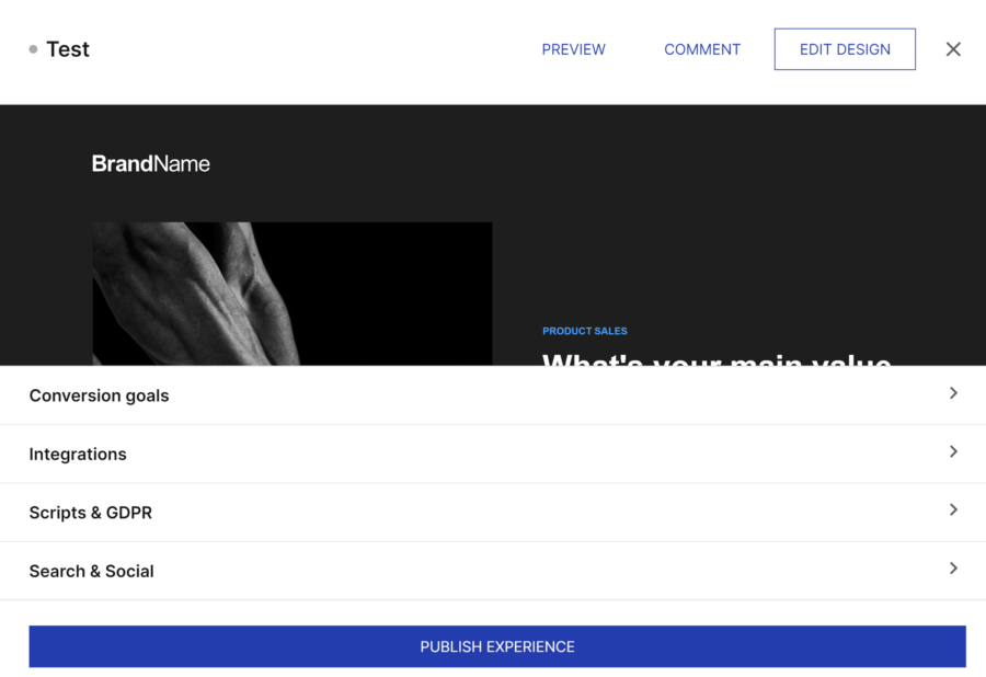 How to create a landing page with Instapage: landing page setup