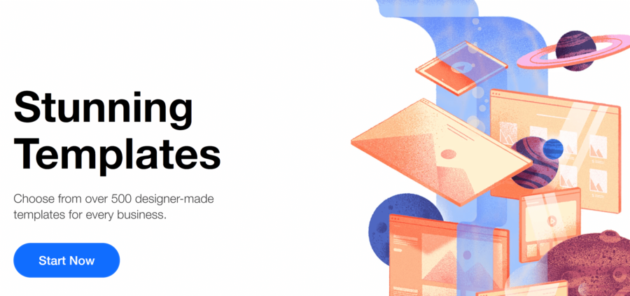 How to build a landing page with Instapage: second part of illustrated Wix landing page